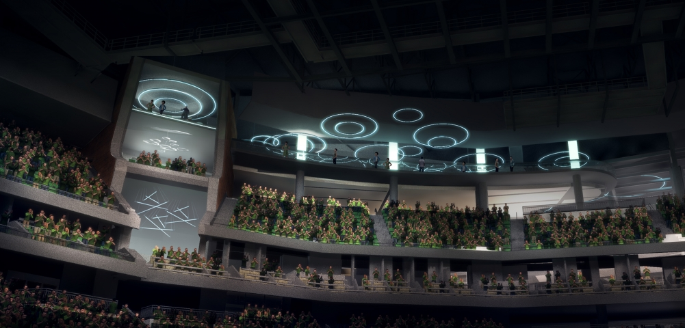 Inside Of New Bucks Arena Looks More And More Like A