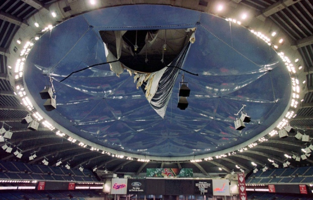 Montreal To Spend 250m On New Roof For Stadium Hardly